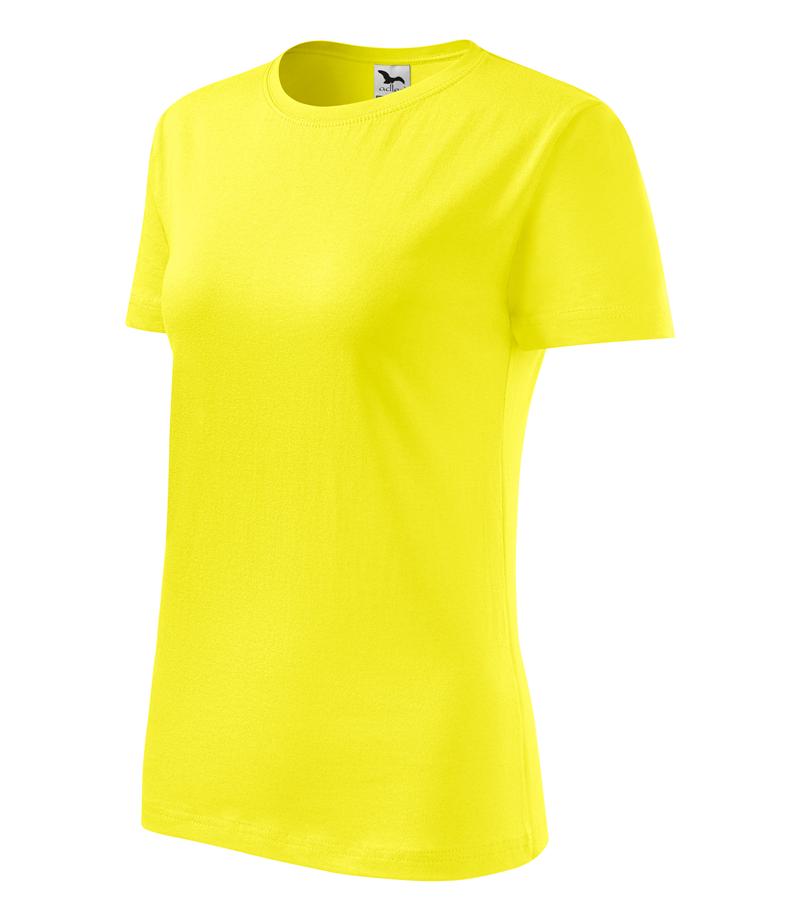c5dda2e8fe3e Pracovné odevy- Adler Tričko BASIC 160g dámske citrónové XL