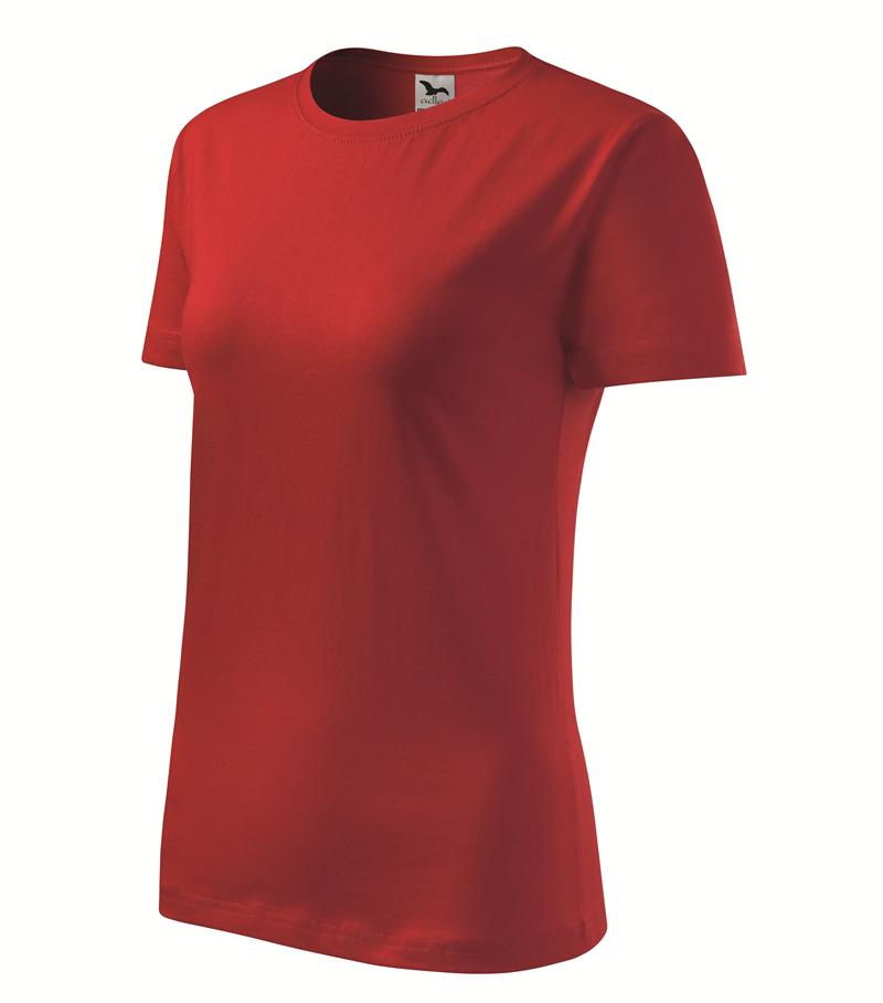 ebbda7bb4e28 Pracovné odevy- Adler Tričko BASIC 160g dámske červená L