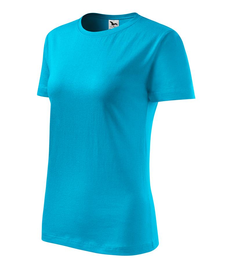 2ee14bd4d094 Pracovné odevy- Adler Tričko CLASSIC NEW 145g dámske tyrkysová L
