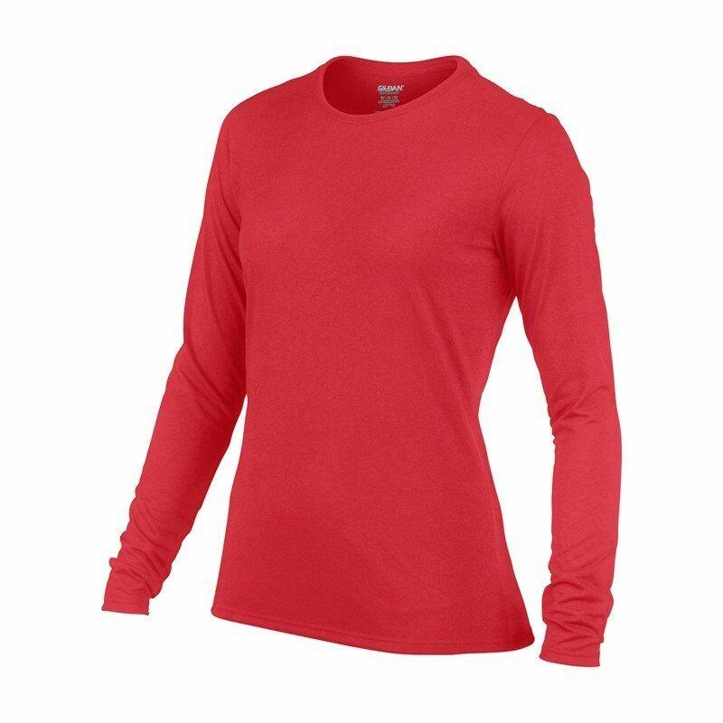 988a17880800 Repre Dámske tričko GILDAN PERFORMANCE LSL dlhý rukáv