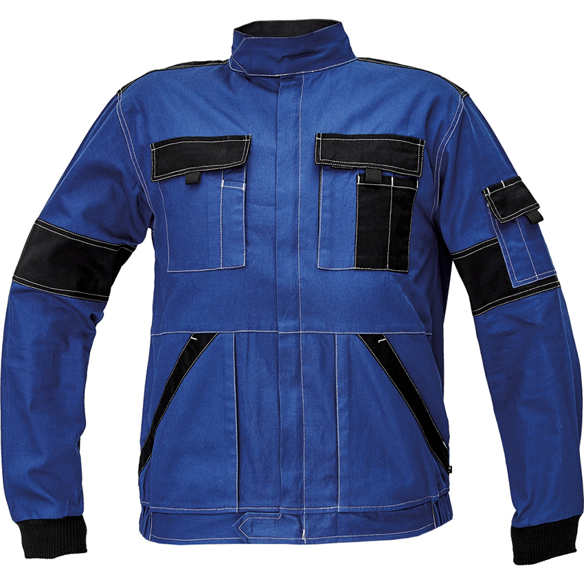 Pracovné odevy- Blúza MAX SUMMER modro-čierna č.60 fc70915da85