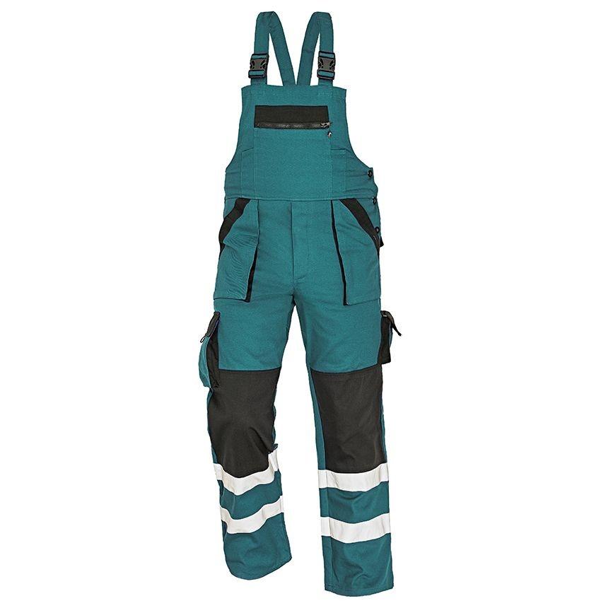 3dd248b448f8 Pracovné odevy- Montérkové nohavice MAX RFLX s náprsenkou