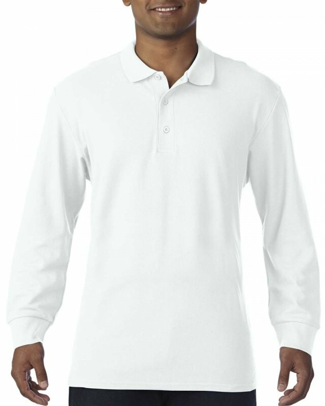 2fb17d24b984 Pracovné odevy- Repre Polokošeľa pánska GILDAN dlhý rukáv biela S
