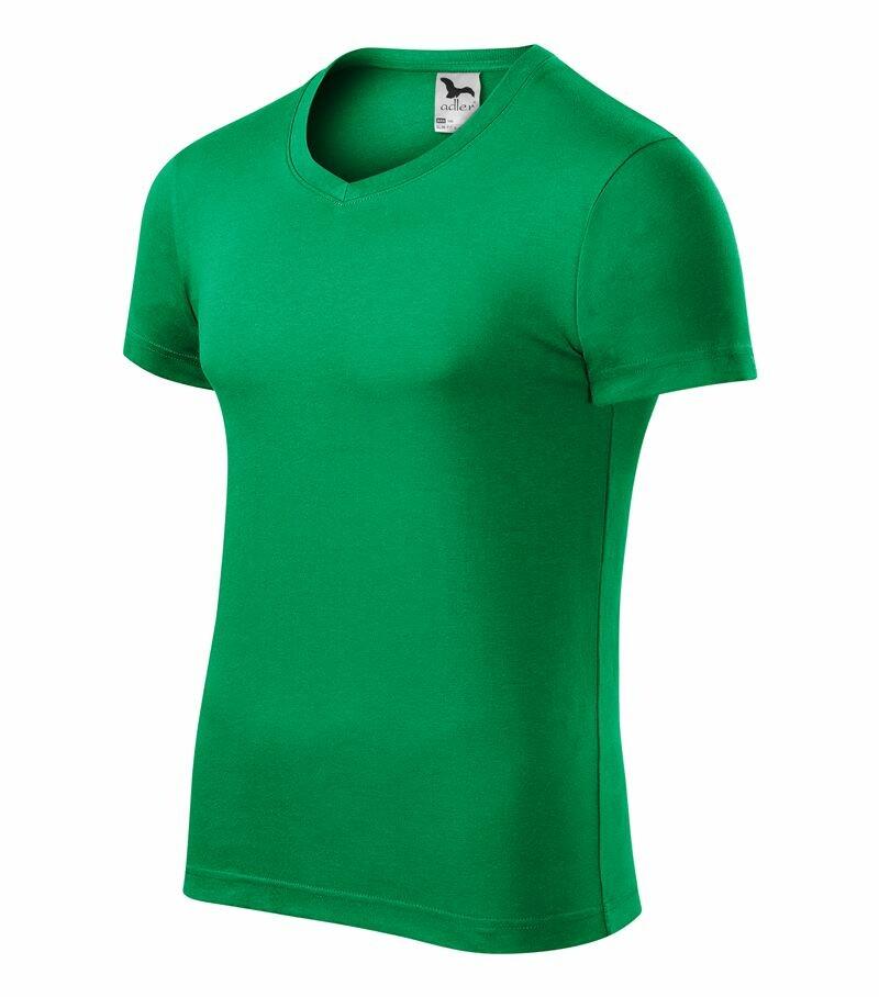 adffd481d6a0 Pracovné odevy- Adler Pánske tričko SLIM FIT V-NECK (Nr.146)