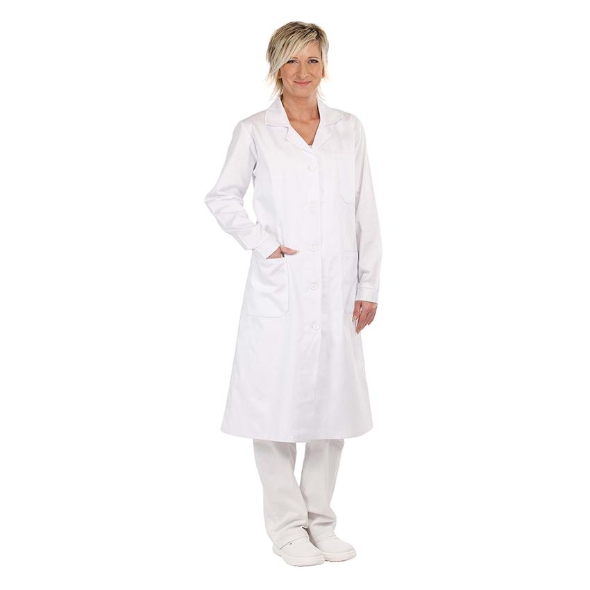 92c3fb5e1286 Pracovné odevy- CERVA Plášť VERIS dámsky biely č.50