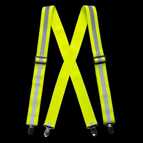 c8cd1c3e8795 Pracovné odevy- Portwest Reflexné traky na nohavice HV56 Hi-Vis