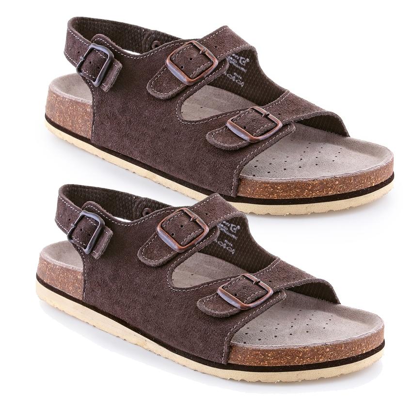 2074e9800490 Pracovná obuv- Canis (CXS) Sandále CORK FILL pánske č.45