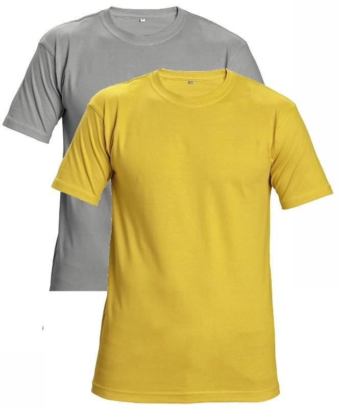 b3d72ca12122 Pracovné odevy- CERVA Tričko GARAI 190 žlté XL