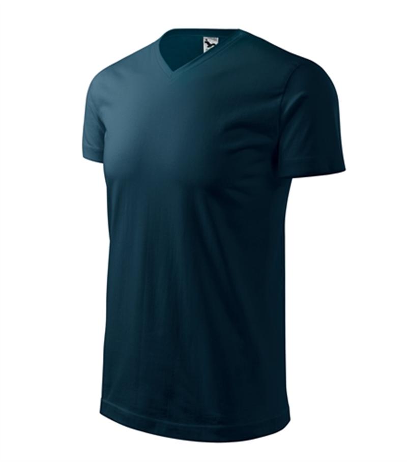 Pracovné odevy- Tričko HEAVY V-NECK 200g unisex tmavomodrá XL 3d78f7e43f