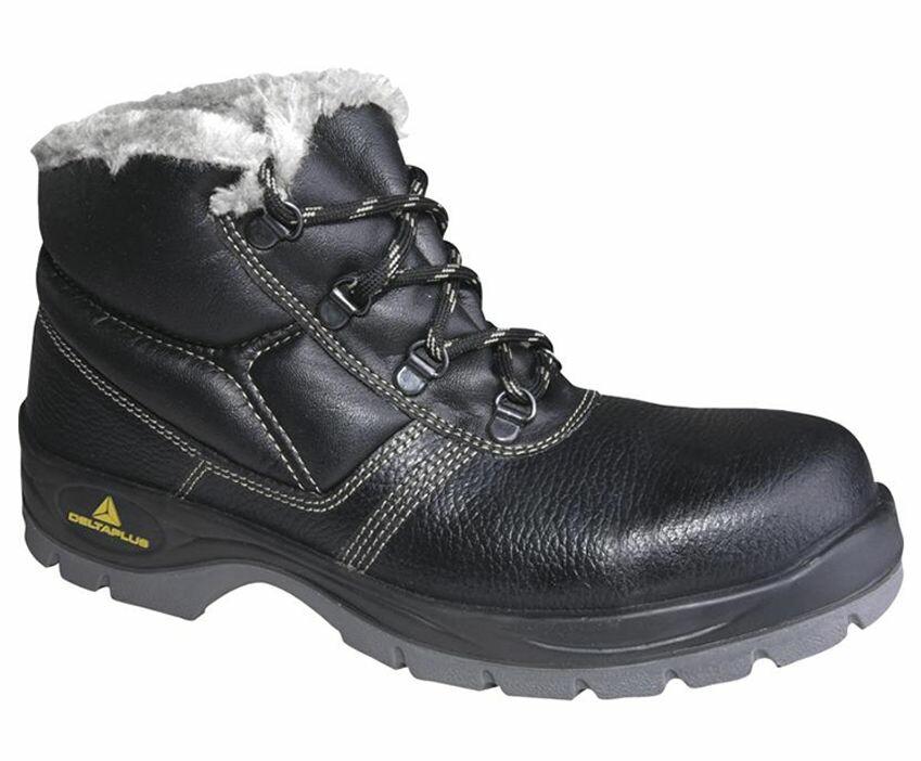 44656f436e Delta Plus Zateplená členková bezpečnostná obuv JUMPER2 S3 FUR