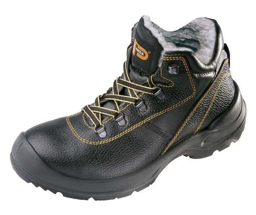 02d53815a9 CERVA Zateplená členková bezpečnostná obuv PANDA ORSETTO S3 WINTER