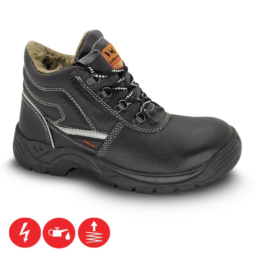 72b06fefb0 Pracovná obuv- VM Zateplená členková pracovná obuv BRUSEL O1
