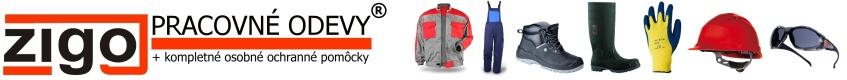 pracovné odevy, pracovne rukavice, pracovná obuv, ochranné pracovné prostriedky